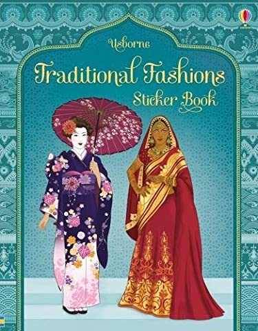 Traditional Costumes from Around the World Sticker Book (Costume World)
