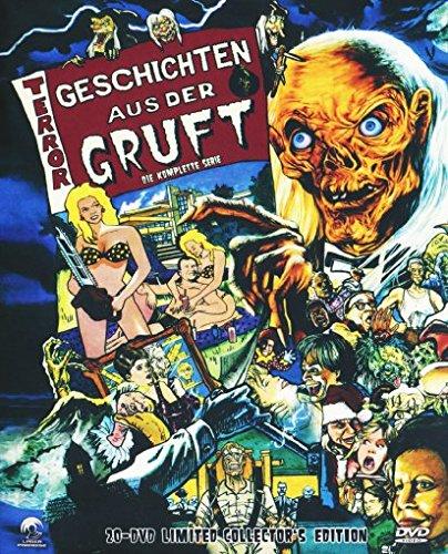 Preisvergleich Produktbild Geschichten aus der Gruft - Die komplette Serie [ Limited Collector's Edition ] Staffel 1-7 incl. Bootlek [20 DVDs]
