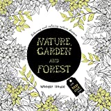#4: Nature, Garden and Forest: Colouring Books for Adults with Tear Out Sheets (Adult Colouring Book)