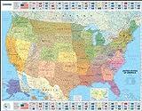 Image de Mapa plastificado U.S.A. Político (Mapas en tubo y plastificados Michelin)