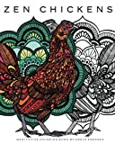Zen Chickens: Meditative Coloring Book by Adele Enersen (2016-03-22)