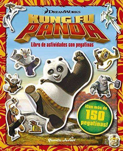 Kung Fu Panda. Libro de actividades con pegatinas: ¡Con más de 150 pegatinas! (Kung Fu Panda - Dreamworks)
