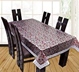 #5: Yellow Weaves Waterproof Floral 3D Effect Dining Table Cover 90*60 Inches (Multi)