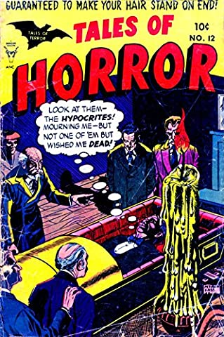 POSTER comics cover Toby Minoan Tales of Horror Of 12