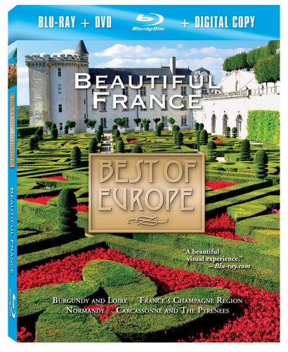 Preisvergleich Produktbild Best of Europe: Beautiful France (Two-Disc Combo: Blu-ray / DVD / Digital Copy)