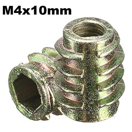 ChaRLes 5Pcs tornillo de la impulsión del maleficio M4x10mm en el parte...