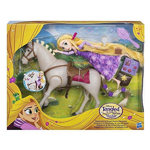 Enredados - Pack de Rapunzel y Caballo Maximus de Disney (Hasbro C2761