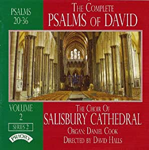 The Complete Psalms of David, Vol 2 - Series 2