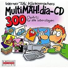MultiMÄH!dia-CD, 1 CD-ROM 300 ClipArts für alle Lebenslagen. Für Windows 3.1/95
