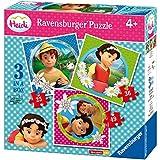 Heidi - 3 Puzzle progresivos con 25,36,49 piezas (Ravensburger 07074)