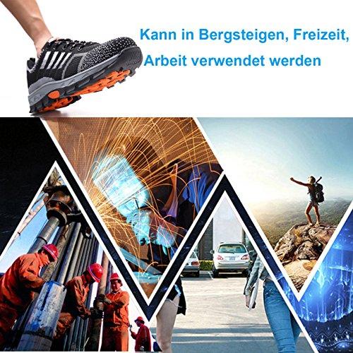 online store 6059f e15d5 Ulogu Arbeitsschuhe Herren Damen Sportlich Sicherheitsschuhe ...