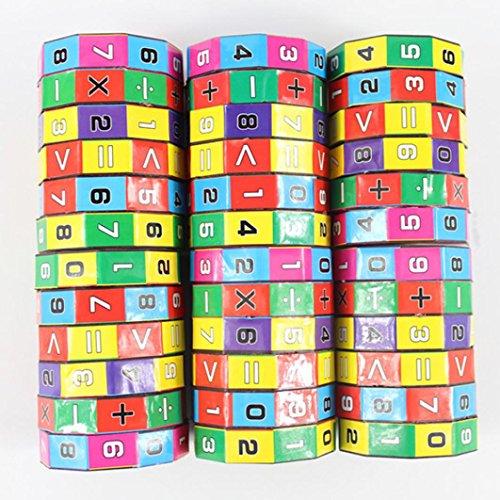 QUINTRA Neue Kinder Kinder Mathematik Zahlen Zauberwürfel Spielzeug Puzzle Spiel ()