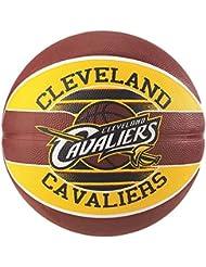 Spalding NBA Team Cleveland Cavs 83-504Z Balón de Baloncesto, Unisex, Multicolor, 7