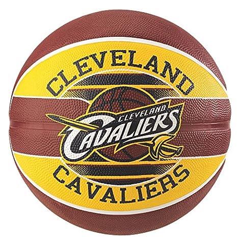 Spalding Nba Team Cleveland Cavs Ballon de Basket Mixte Adulte, Multicolore, 5
