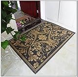 Pasillo de alfombras de piso del baño Estilo europeo alfombras alfombras alfombra alfombra sala de estar dormitorio alfombra cabecera entrada alfombra Baño esteras alfombra WC ( Color : # 3 , Tamaño : 60*90cm )