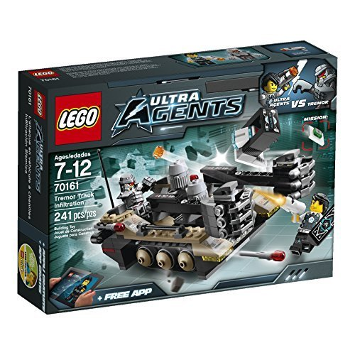 LEGO Ultra Agents 70161 Tremor Track Infiltration by LEGO Ultra Agents