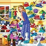 SunsOut 58307 - Thompson: Rosies Hutgeschäft - 500 Teile Quadratpuzzle