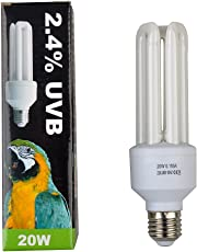 Lucky Etc. Compact Bird Lampe, 2,4% UVB, 20W, E27Gewinde
