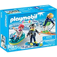 playmobil vacanciers aux sports dhiver 9286 - Playmobil Ski