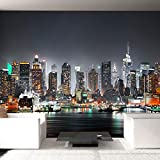 murando – Fotomurali 400x280 cm – Carta da parati sulla fliselina - Carta da parati in TNT - Quadri murali XXL - Fotomurale - City Citta New York d-B-0034-a-c