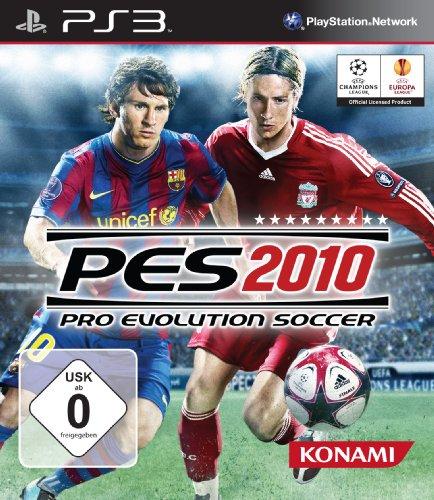 Sony Ps3: Pro Evolution Soccer 2010 Pes 2010 Erscheint With Einem Gewaltigen Fund
