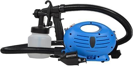 YFXOHAR Paint Zoom - Electronic Spray Paint Machine | Heavy Duty Paint Sprayer, with Multiple Accessories | 650-Watt, Blue/White