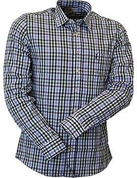 Almsach Trachtenhemd Carl in Bicolor Regulär Fit in zwei Farben