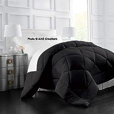 AMZ Ultra Soft Microfibre Reversible Comforter/Quilt/Duvet/Razai/Rajai