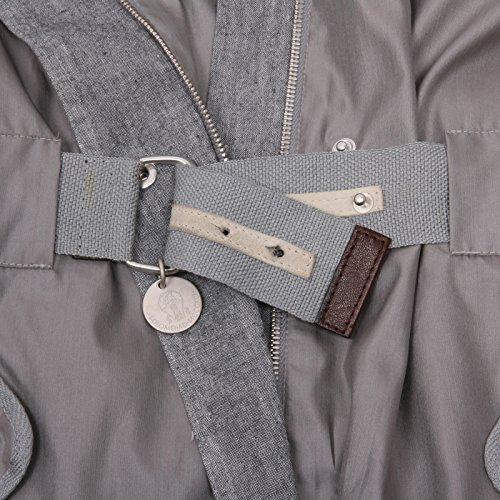 C0282 giacca donna BRUNELLO CUCINELLI antivento grigio jacket woman Grigio