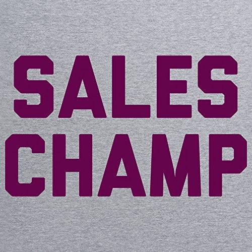Sales Champ T-shirt, Uomo Grigio mlange