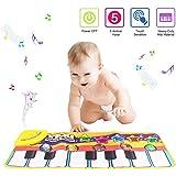 PROACC Tapete para Piano, Juguete con tapete para niños, tapete de Baile para niños de 3 a 36 Meses de Regalo para bebés y ni