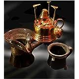 سبرتاية لوكس مع كنكة وكوب فخار لعمل القهوة
