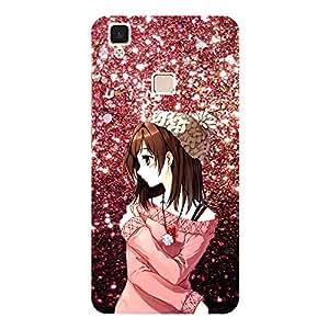Beautiful Girl - Mobile Back Case Cover For Vivo V3 Max