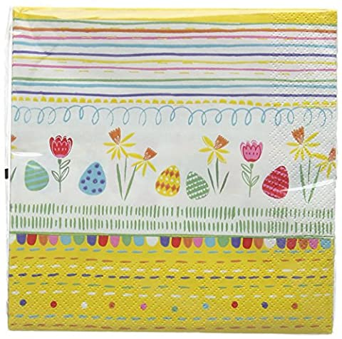Talking Tables 33 x 33 cm The Great Egg Hunt Luncheon Napkin