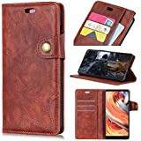 Danallc Huawei Mate 20 Case Wallet Leather, Huawei Mate 20 Case With Card Holder And Kickstand, Huawei Mate 20 Wallet Case With Back Shell, Back Shell Case Case Compatible With Huawei