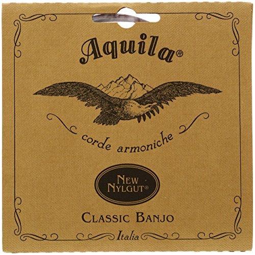 Aquila 1B Banjo 5-String Set Medium, New Nylgut, DBGDG-tuning