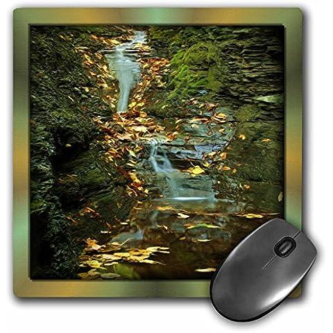 Susan Brown Designs Nature Themes - River Rock Waterfall - MousePad (mp_48119_1)