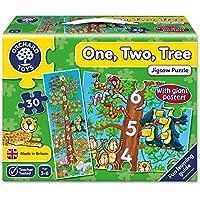 Orchard Toys - Puzzle infantil con póster, diseño de árbol con números