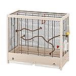 Ferplast Giulietta 6 Bird Wooden Cage, 81 x 41 x 64 cm, Black 6