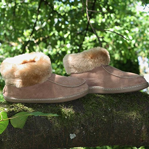 Shearling Sapatos Emil Homens Caiu De Marrom Couro Chinelos Calçado pI7qdwcp