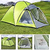 3 Man Large Igloo Beach Camping Festival Fishing Garden Tent Dome Sun Shelter