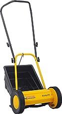 Falcon Premium 300mm Hand Lawn Mower (Yellow and Black)