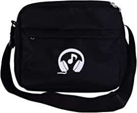 Shadow Securitronics Unisex Music Player Bag Accessories with Remote Holding Option (Black)