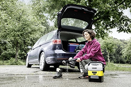Kärcher OC 3 Mobile Outdoor Cleaner inkl. Adventure Box, mit Lithium-Ionen-Akku und Wassertank