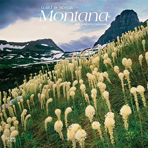 Montana Wild & Scenic 2019 Square por Inc Browntrout Publishers