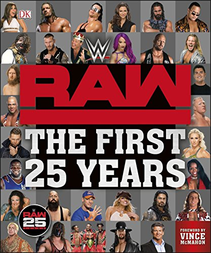 WWE RAW The First 25 Years por Dean Miller