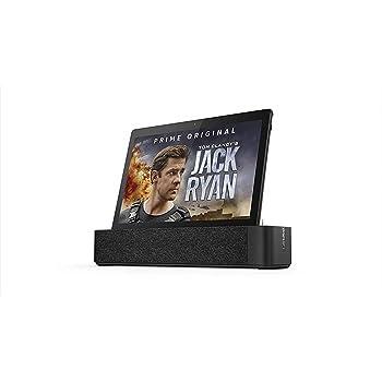 "Lenovo Smart TabM10 - Tablet de 10.1"" FullHD con Amazon Alexa integrada (Snapdragon 450, RAM 2GB, Memoria Interna 16GB, Android 8.0) Color Negro"