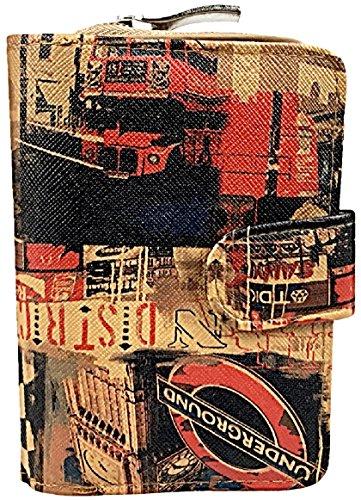 Bellini Portamonete, Monroe-Beige (Beige) - B-2008-MBE London - Braun