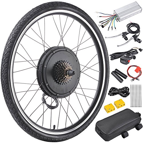 """Price comparison product image ReaseJoy 36V 500W 26"""" Rear Wheel Electric Bicycle Motor Conversion Kit E-Bike Cycling Hub"""