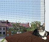 Katzen Schutznetz 4 x 3 schw
